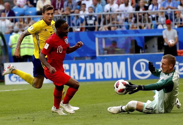 Rahim Sterlng nije uspeo da se upiše u strelce na meču protiv Švedske