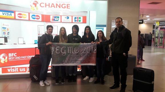 Srpski tim sa Evropske matematičke olimpijade