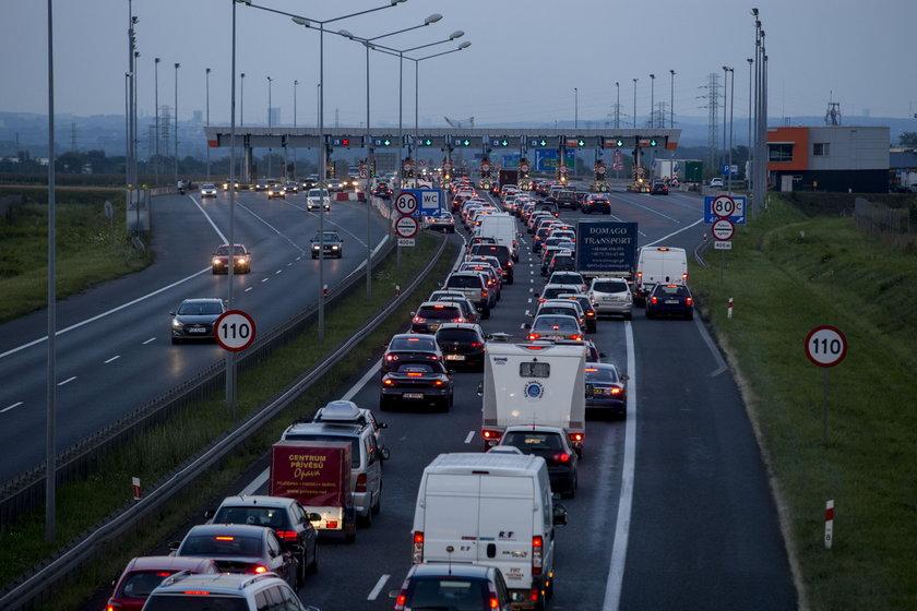 Korki na autostradach
