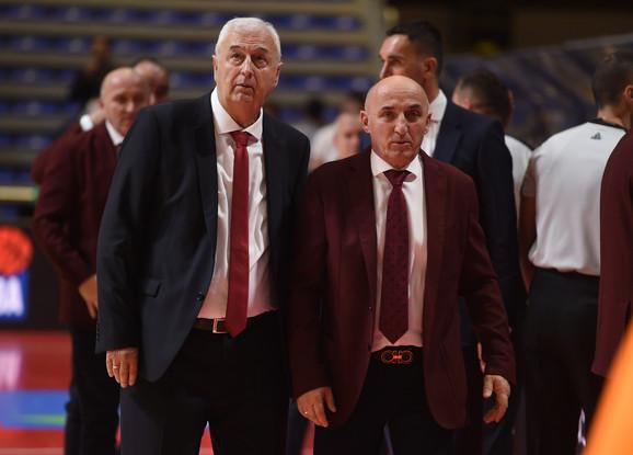 Dragan Šakota i Mihailo Pavićević