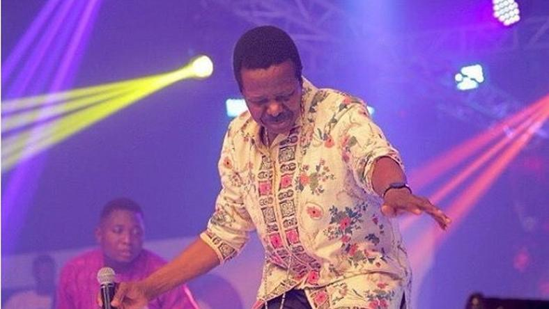 King Sunny Ade performing at his 70th jubilee
