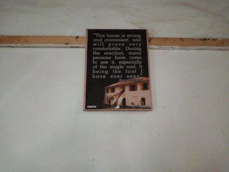 Inside the first storey building in Nigeria