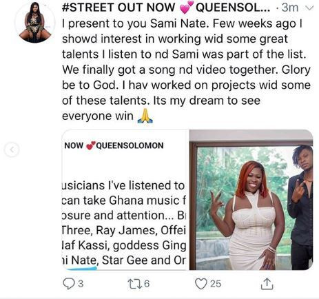 Sista Afia hits the studio with Sami Nate