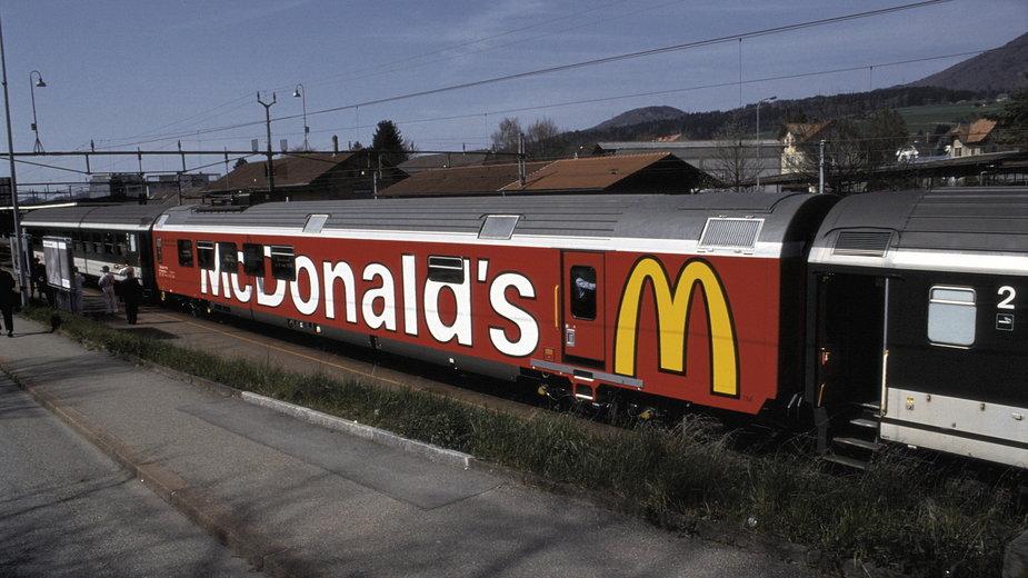 Wagon restauracyjny McDonald's