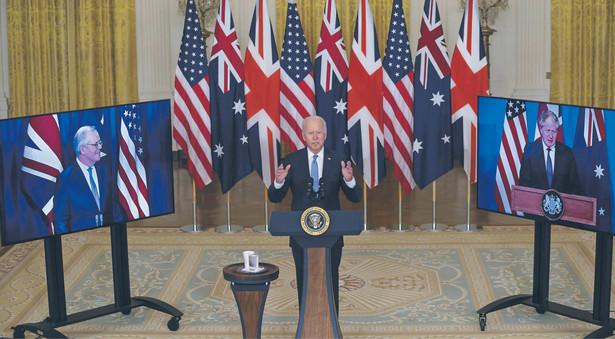 Australia, Stany Zjednoczone i Wielka Brytania tworzą w rejonie Indo-Pacyfiku solidny system bezpieczeństwa