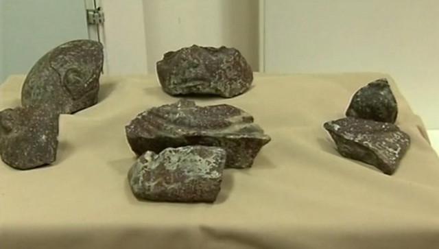 Fragmenti koji su pronađeni su izrađeni od izuzetno retkog i skupocenog materijala