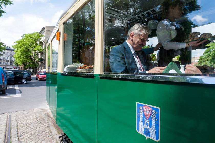Tramwajowa kawiarenka już otwarta