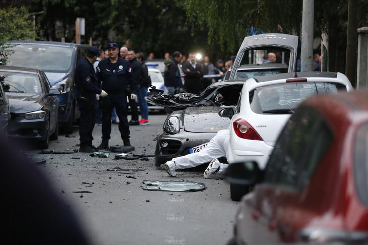 bomba vračar riječka ulica porše