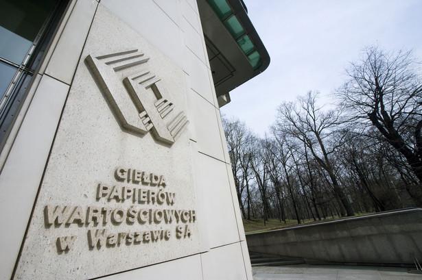 Giełda Papierów Wartościowych w Warszawie. Fot. Bloomberg
