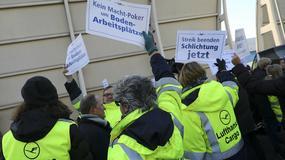 Przez strajk pilotów Lufthansa odwołała kolejne 890 lotów