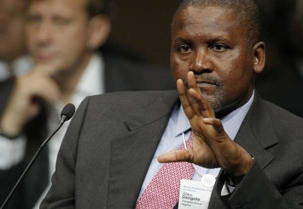 Aliko Dangote, Africa's richest man for the 8th time in a row, according to Forbes
