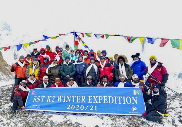 Zimowe wejście na K2