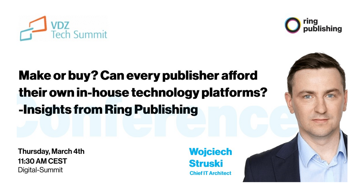 Make or buy? Can every publisher afford their own in-house technology platforms?