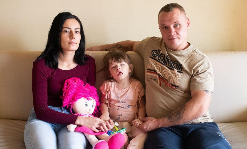 4-letnia Basia całkowicie straciła wzrok.