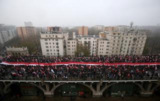 'Polska bastionem Europy' hasłem Marszu Niepodległości 2016 [WIDEO]