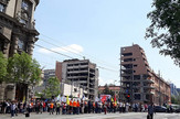 Protest prosvetara ispred Vlade Srbije