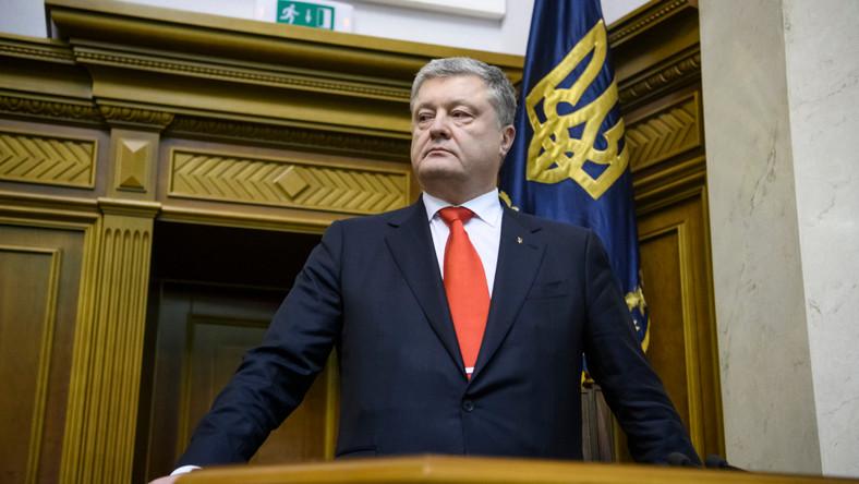 Były prezydent Ukrainy Petro Poroszenko