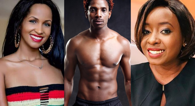 Jacque Maribe's photo with Chantal and Eric Omondi elicits mixed reactions from fans