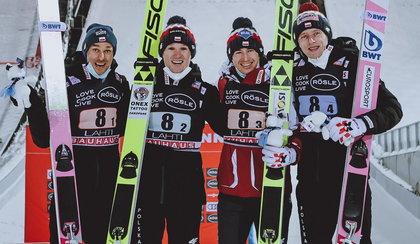 MŚ w Oberstdorfie: Konkurs drużynowy. Polacy walczą o medal. RELACJA NA ŻYWO