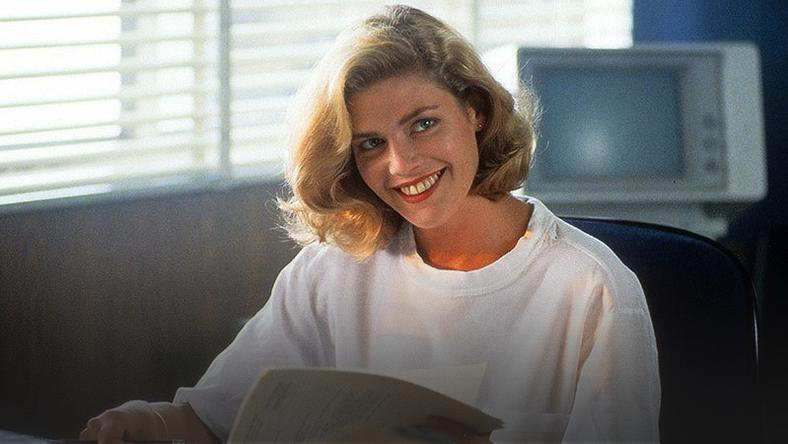 "Kelly McGillis - kadr z filmu ""Top Gun"""