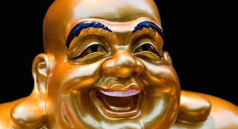 The smiling Buddha rocked Nigerian social media. (Collective Evolution)