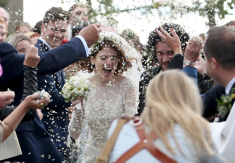 Kit Harington I Rose Leslie Aktorzy Z Gry O Tron Wzięli ślub
