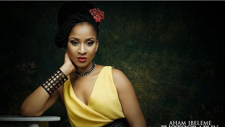 Adesua Etomi told Vogue magazines five unique things about her career in Nollywood. [Aham Ibeleme]