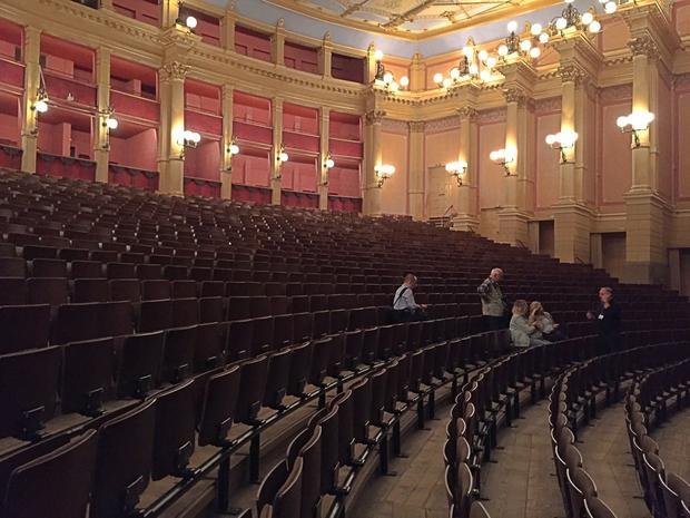 Teatr Festiwalowy. Widownia