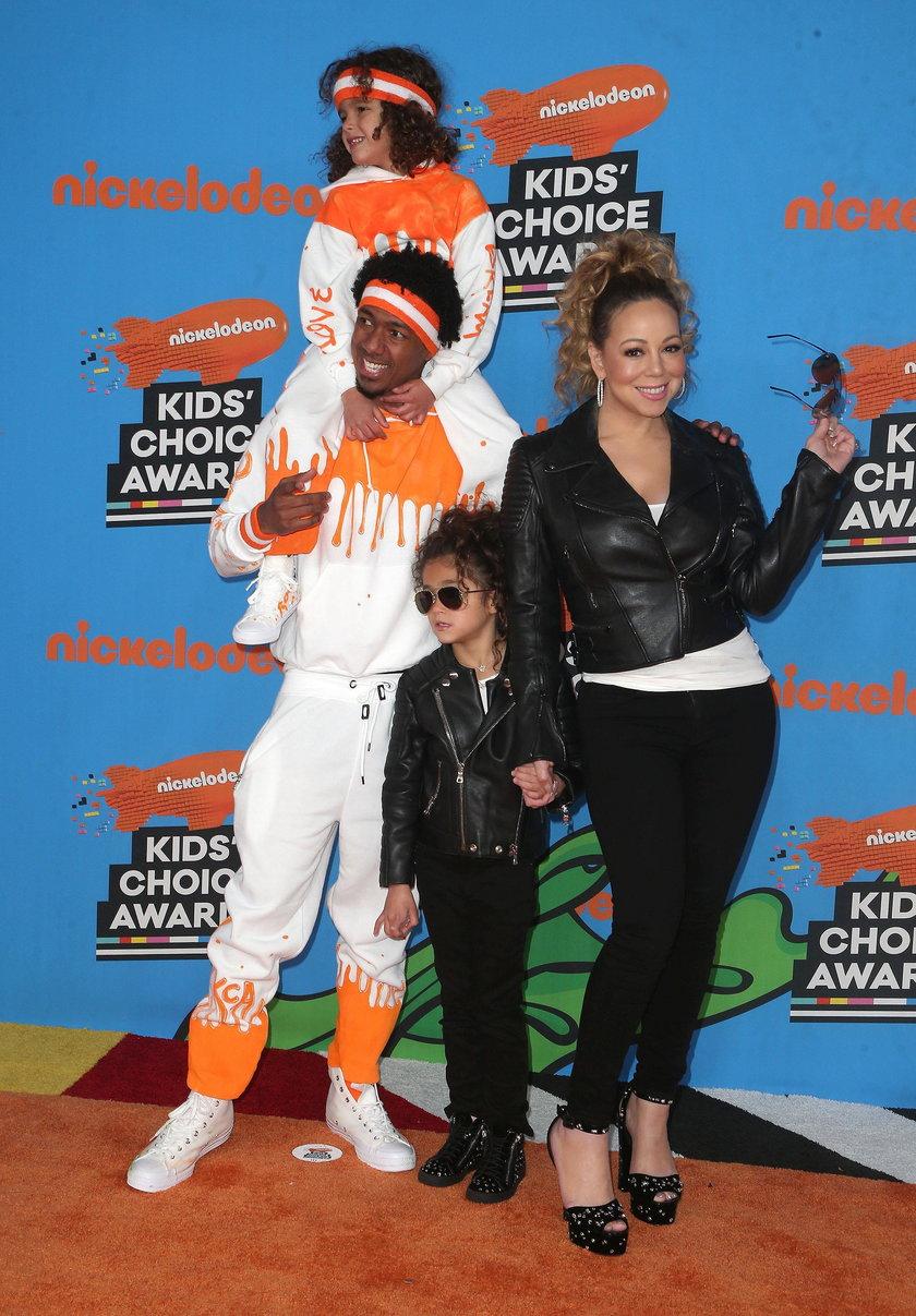 Mariah Carey, Nick Cannon oraz ich dzieci Monroe i Moroccan