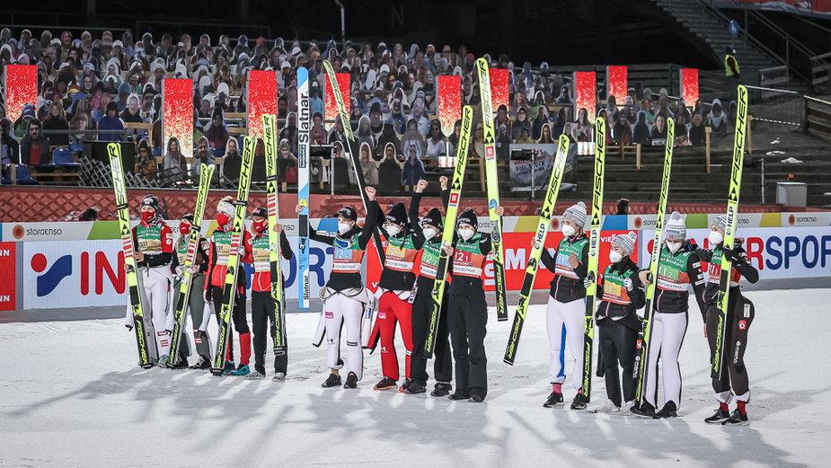Drużynowe medalistki MŚ 2021