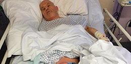 Horror w szpitalu! 61-latek był głodzony przez 10 dni, zmarł