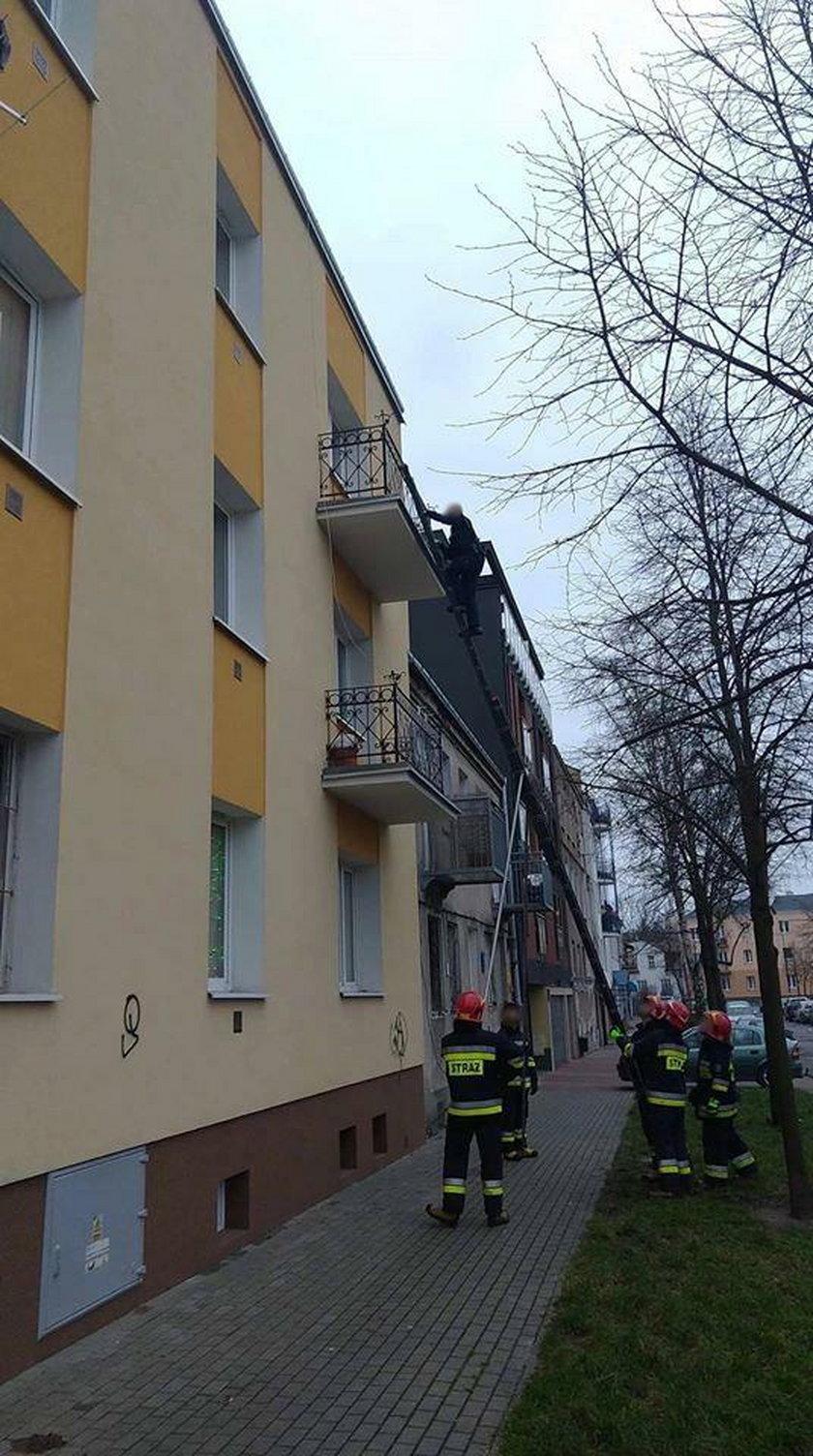 Zostawili go na dwa dni na balkonie. Horror na warszawskiej Pradze