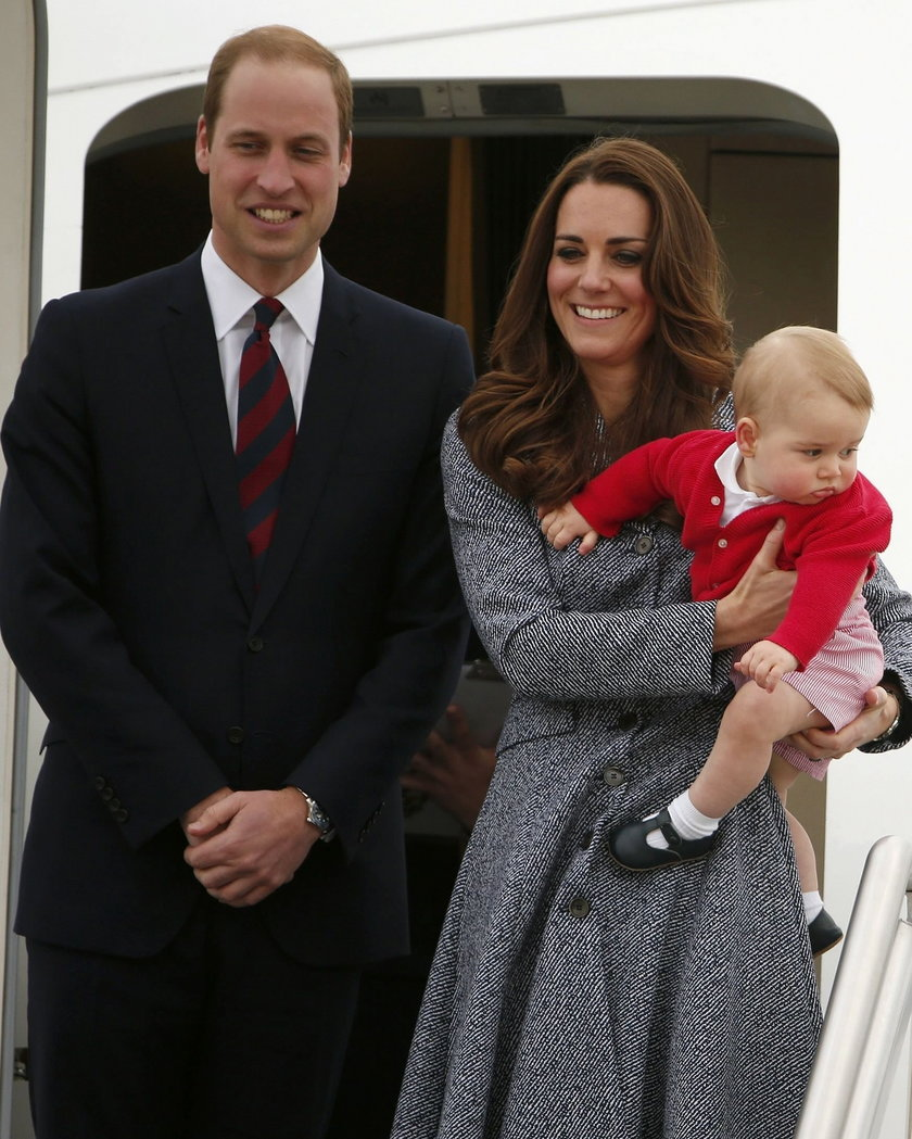 Księżna Kate, Książe William i Książe George