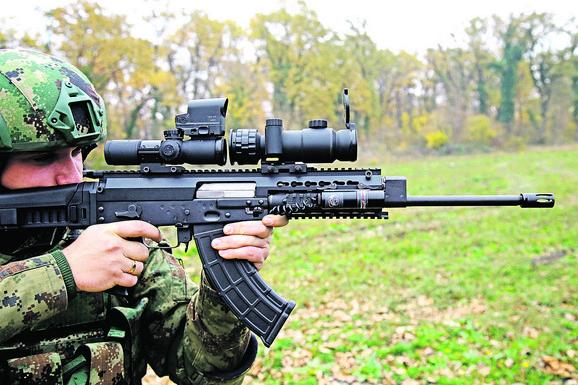 Puška M17