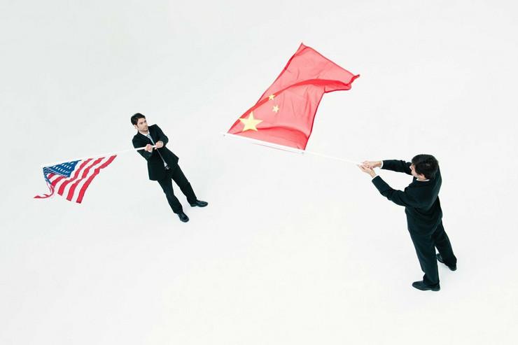 kina SAD zastave