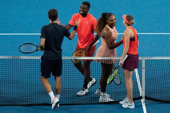 Rodžer Federer, Serena Vilijams, Belinda Benčić, Franses Tijafo