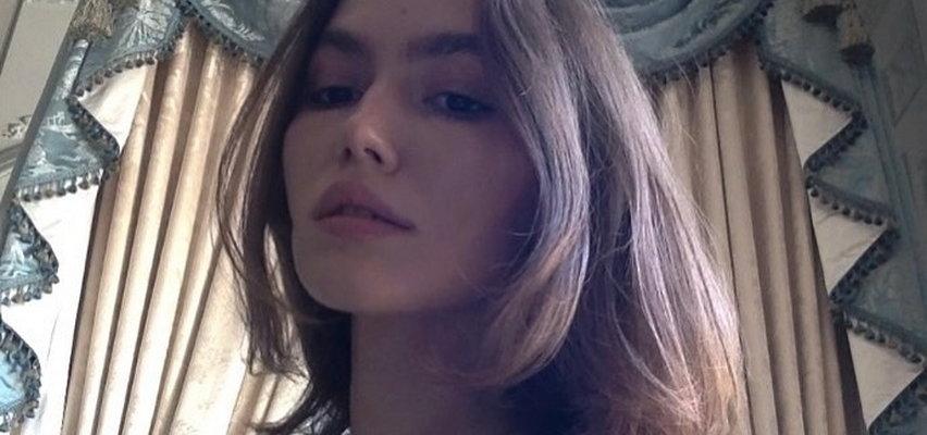 Córka Hanny Lis w odważnej pozie. Aspirująca modelka paliła topless na balkonie!