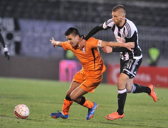 Alen Stevanović se ispromašivao protiv Spartaka