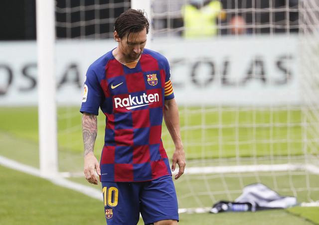 Lionel Mesi na meču Barselone i Selte iz Viga