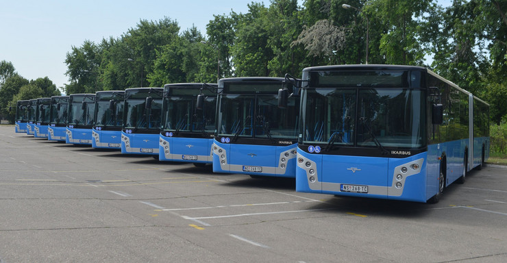 Vozni park JGSP ''Novi Sad''