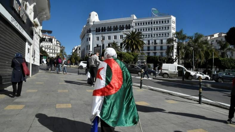 Friday's protest is the first major test of whether Algeria's president has calmed public anger with his vow not to seek re-election