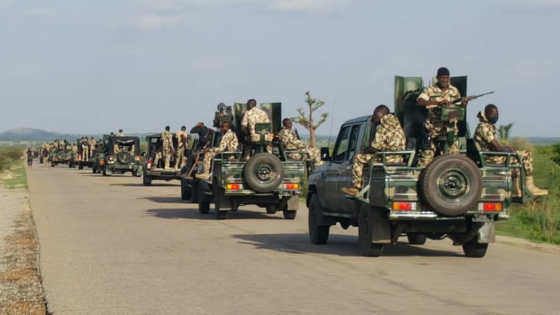 Nigerian troops have battled the Boko Haram insurgency in the restive northeast region since 2009 [DHQ]