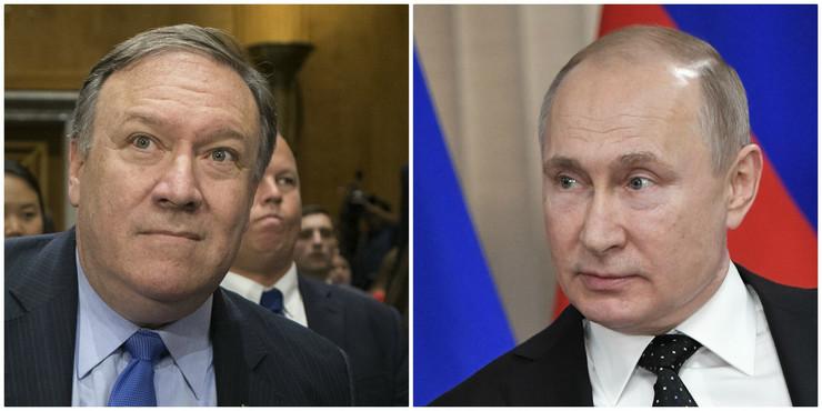 Pompeo i Putin