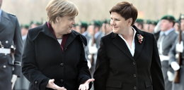 O czym rozmawiały Szydło z Merkel?