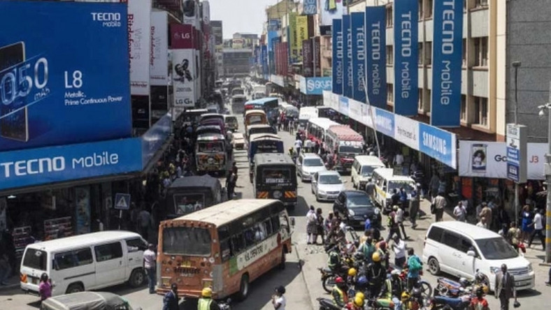 Luthuli Avenue during peak hours