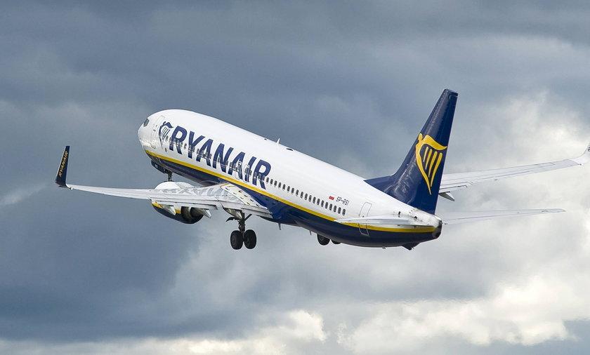 Samolot Ryanaira
