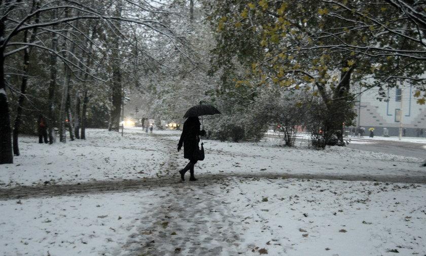 Śnieg już w kilku województwach