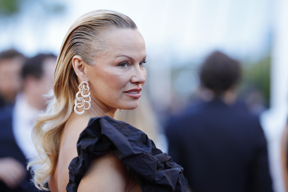 Pamela Anderson w Cannes