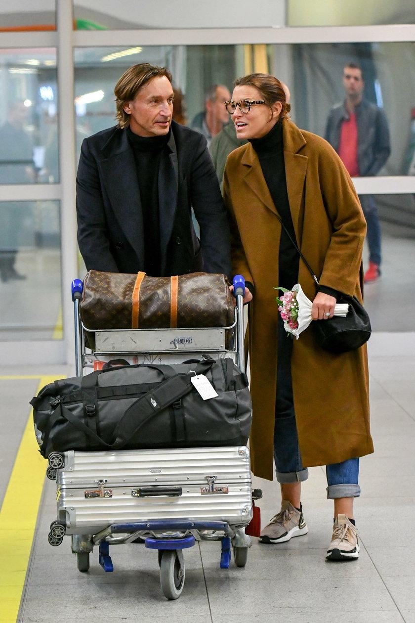 Iwona Felicjańska i Paul Montana