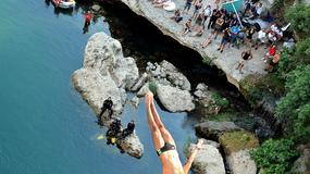 Nowy rekord świata! Skok z klifu o wysokości 58,8 metrów